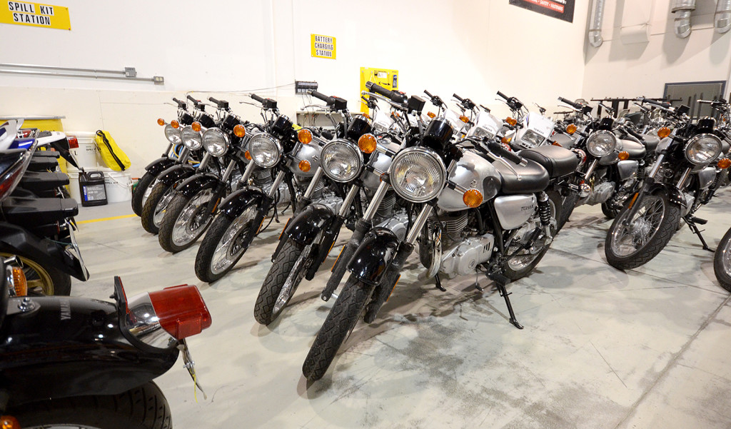 New bikes for SSM Motorcycle training