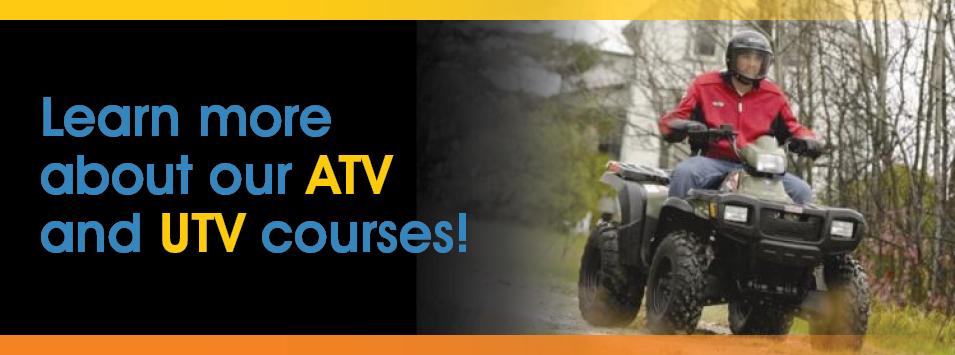 ATV and UTV Training