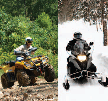 ATV-snowmobile