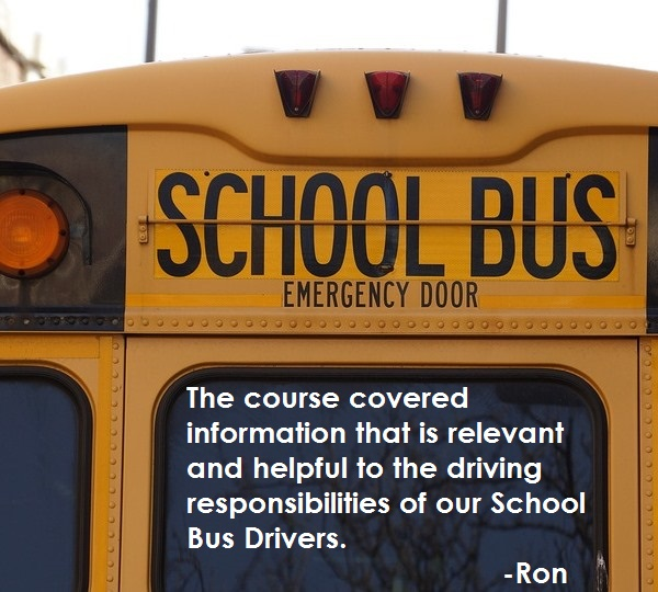 Relevant and Helpful Info for School Bus Drivers