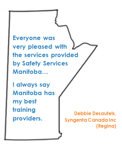 Manitoba has my best training providers