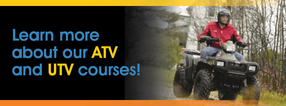 ATV and UTV Training